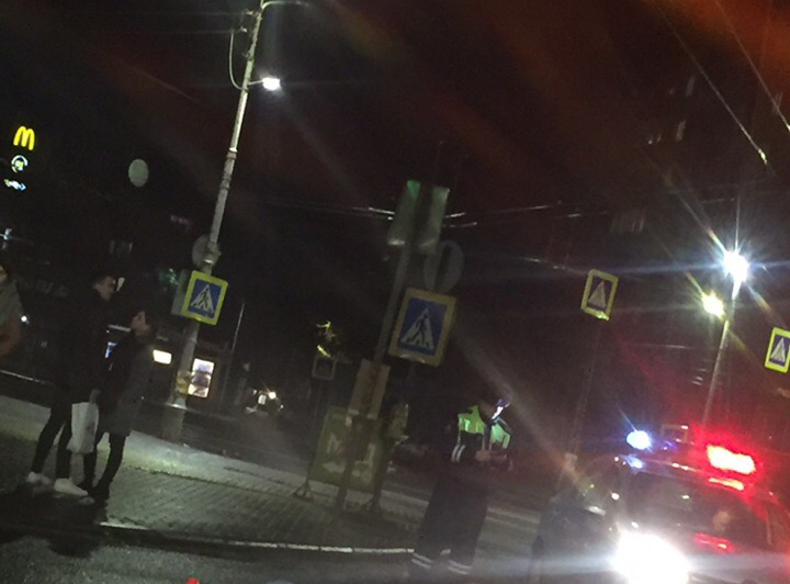 Авария на Станционной: на видео автобус раздавил человека