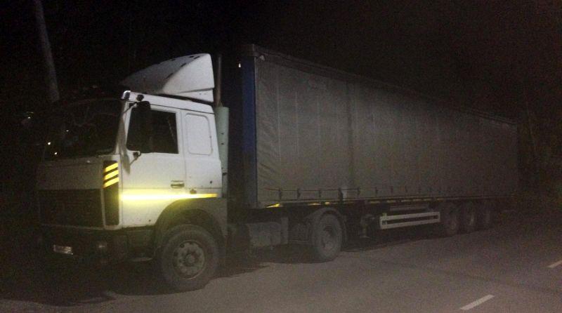 В Родниковском районе при столкновении с МАЗом пострадал мотоциклист