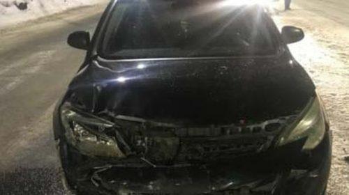 На Велижской женщина-пешеход спровоцировала аварию