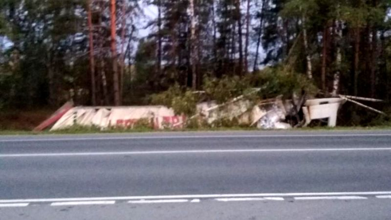 В Ивановском районе опрокинулся и врезался в деревья автомобиль «Рено»
