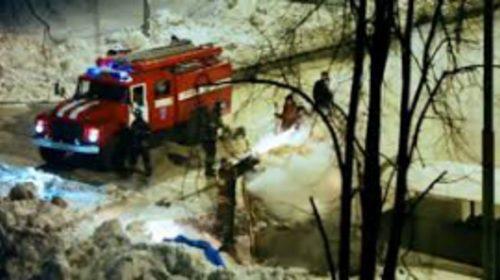 Пожар в городе Шуя на Ленина уничтожил частный дом