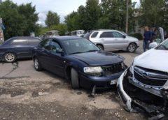 Тройная авария в Кинешме: у «Магнита» пострадали четыре человека