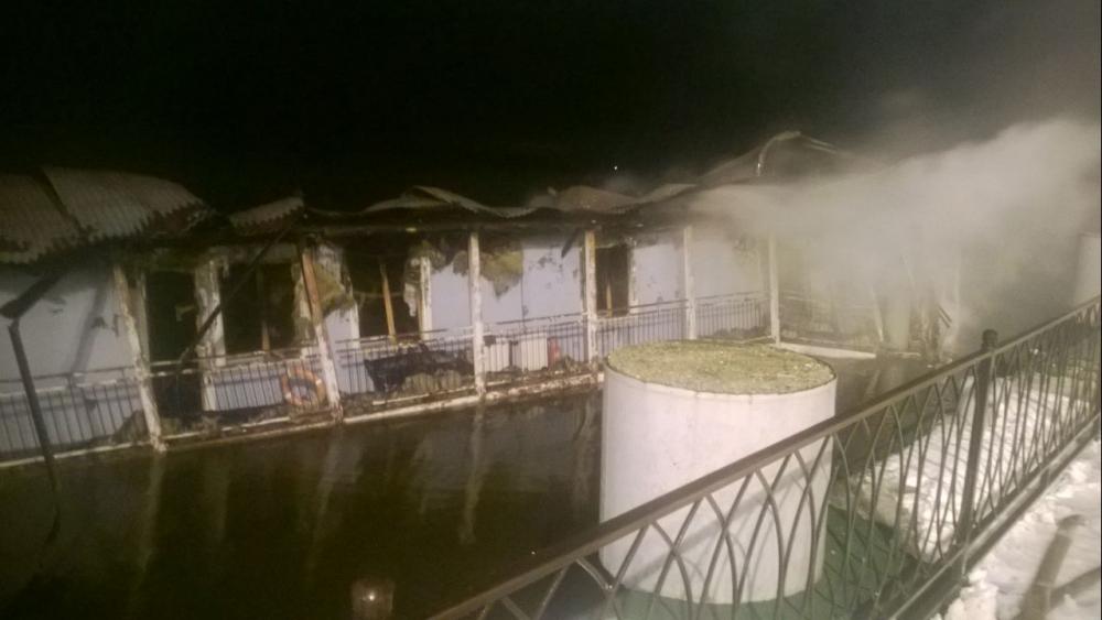 Почему сгорела «Мирная пристань» в Кинешме установят эксперты