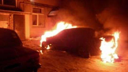 На Сосневской сгорела машина: уже шестая за неделю