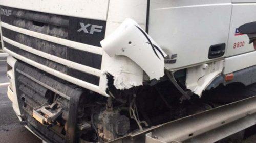 ДТП в Лежневском районе: водитель «Форд» врезался в «Сканию»