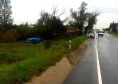 «ГАЗ» опрокинулся в кювет в Тейковском районе