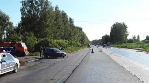 ВАЗ в Ивановском районе сбил 68-летнюю велосипедистку