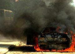 В Шуе проверили возгорание машины с ребенком в салоне