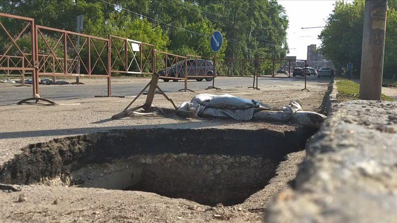 Мост на Смирнова починят до конца августа