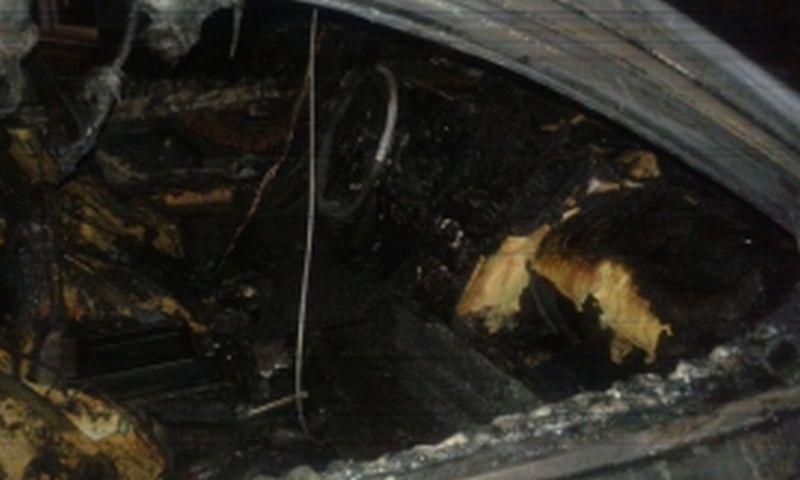 В Иванове ночью сгорел автомобиль
