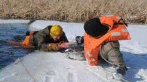 В Кинешме спасли провалившегося под лед рыбака