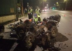 В ДТП на проспекте Текстильщиков погиб водитель квадроцикла