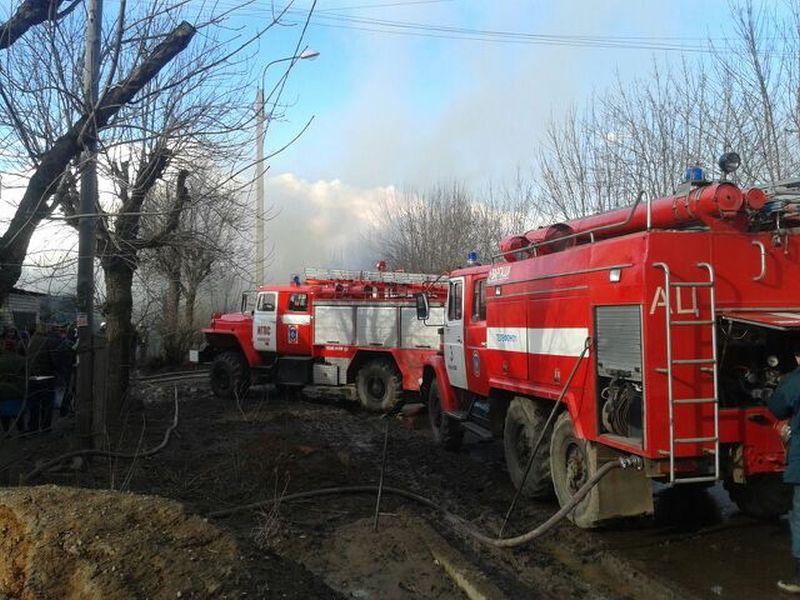 В Шуйском районе сгорела пилорама на 300 квадратах