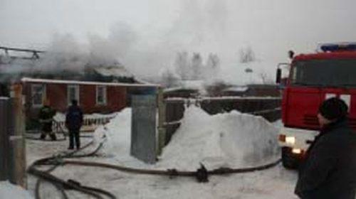 Пожар в Кинешме на Волжской отправил человека в больницу