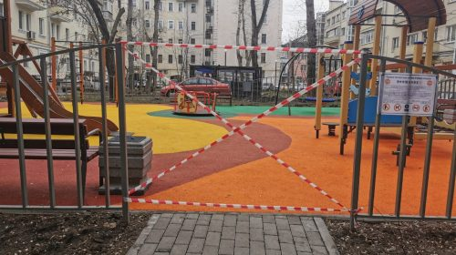 В Иваново закрыли детские и спортивные площадки из-за коронавируса