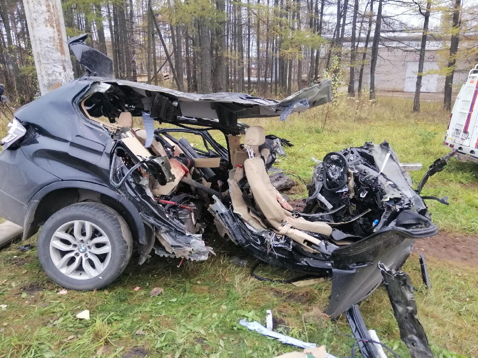 В ДТП под Иваново по пути в Кохму погибли четыре человека