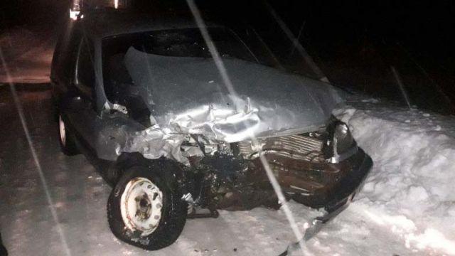 Авария на дороге Южа-Талицы-Мугреевский переломала ногу мужчине