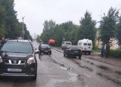 После аварии в Юже пострадали водитель и пассажир ВАЗа