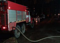 В Иванове в пожаре сгорел человек