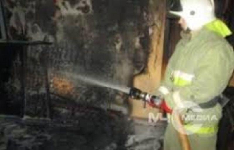 Пожар на улице Черниковых: горел частный дом