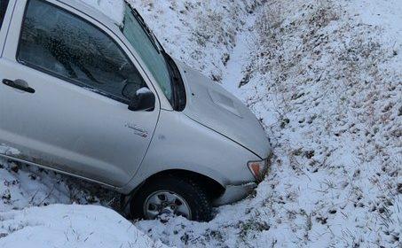 Авария с участием трех автомашин произошла в Родниковском районе