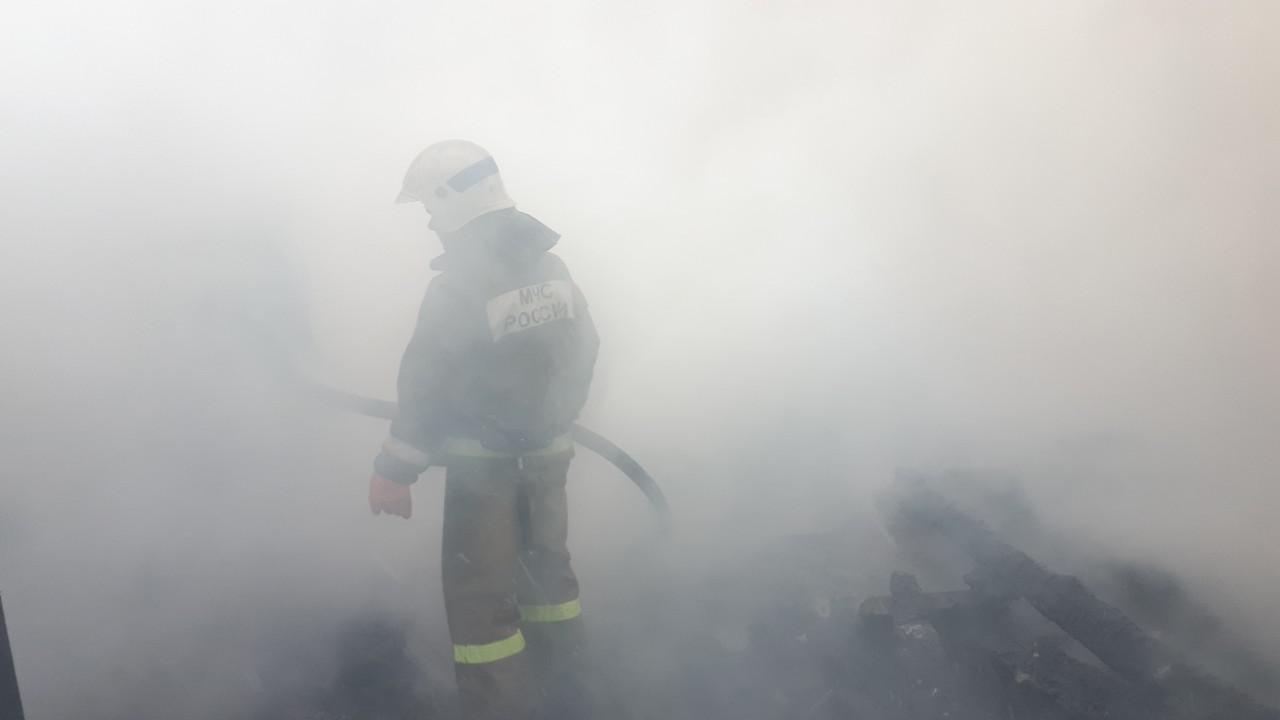 В Ивановской области в пожаре сгорел 9-летний ребенок