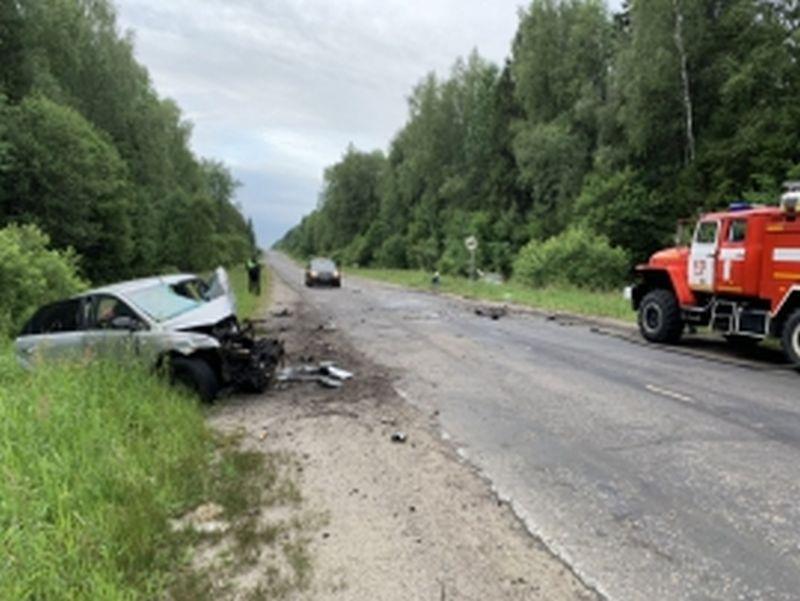 В Шуйском районе смертельная авария с двумя погибшими