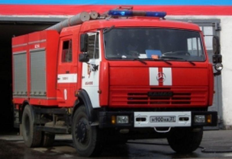 Пожар на АЗС в Вичугском районе: горел резервуар с битумом