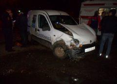 В Кинешме произошла авария с тремя пострадавшими
