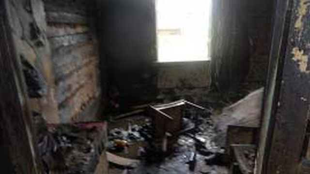 Пожар в Пестяках на Республики: один человек пострадал