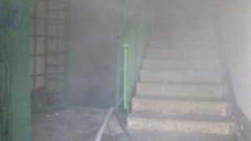 В Юрьевце на Промышленной горел подвал многоквартирного дома