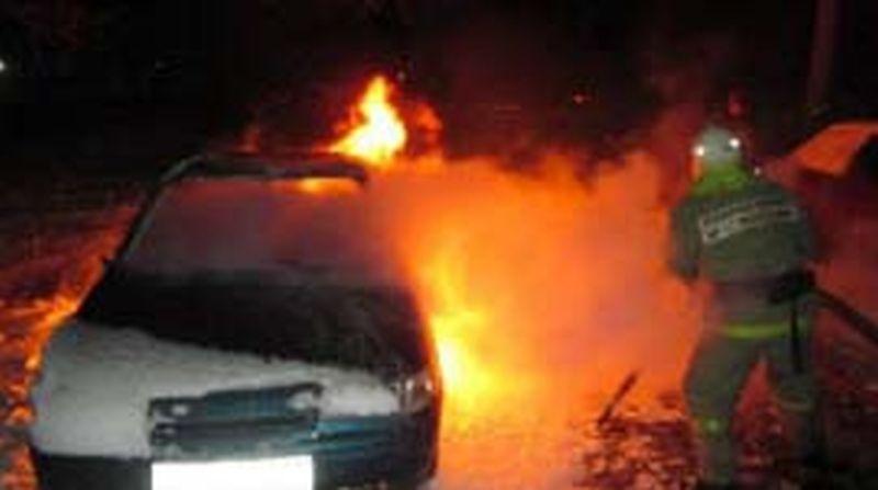 Тачка - огонь: за выходные дважды горели машины