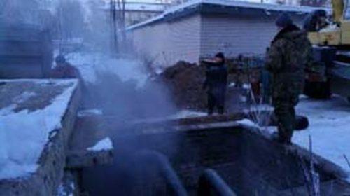 В Кинешме произошла коммунальная авария на тепломагистрали