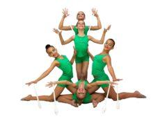 Состязания по художественной гимнастике стартовали в школе № 9 олимпийского резерва