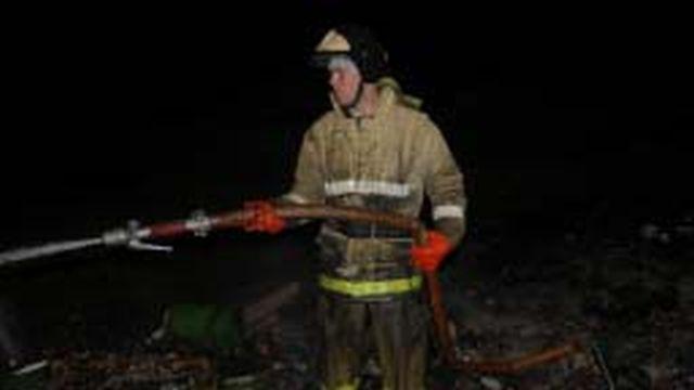 На 3-й Сокольницкой ранним утром горел гараж