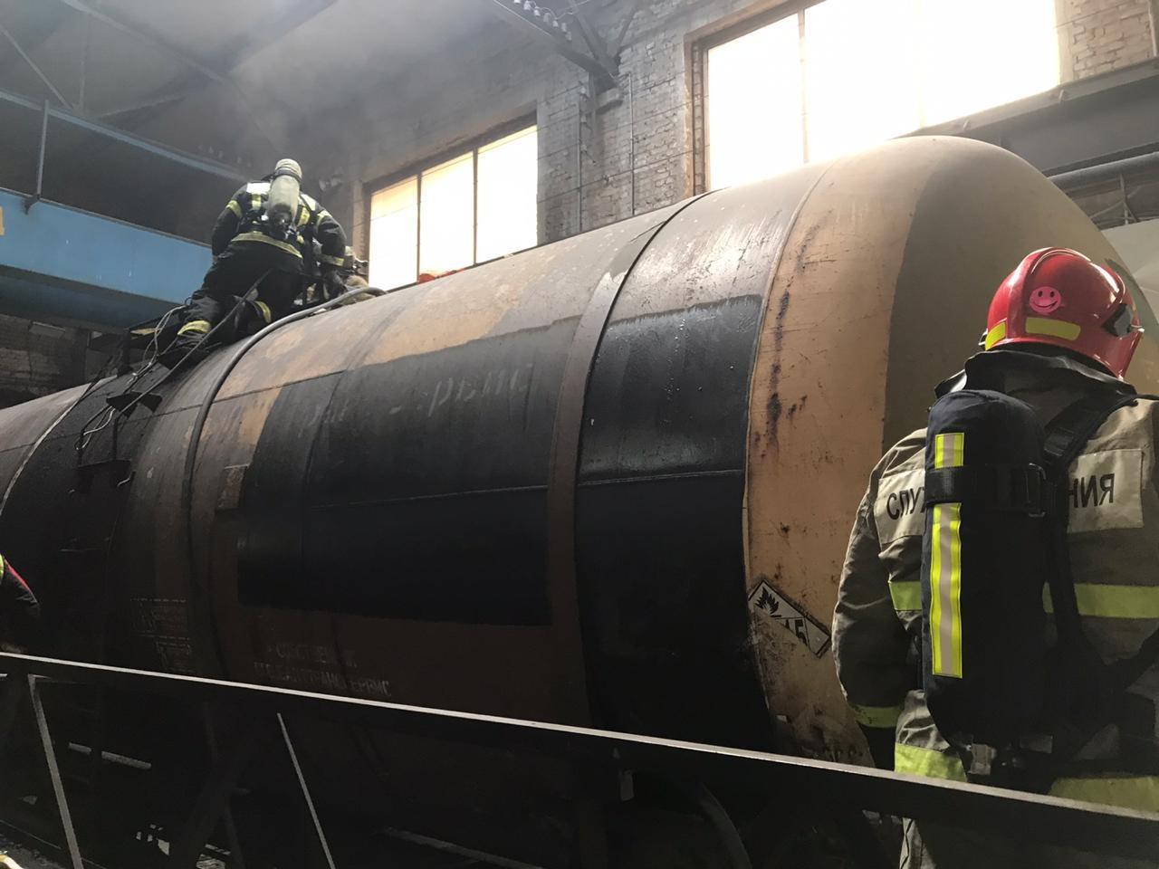 Взорвалась цистерна: в депо ООО «БалтТрансСервис» погиб человек