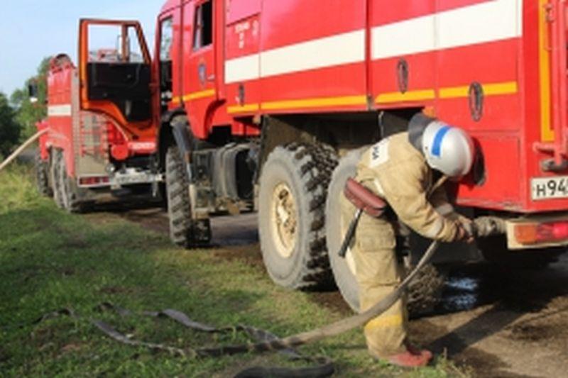 Пожар в Фурманове: горела крыша здания ткацкой фабрики