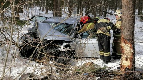 Авария у Богородского: три человека в больнице