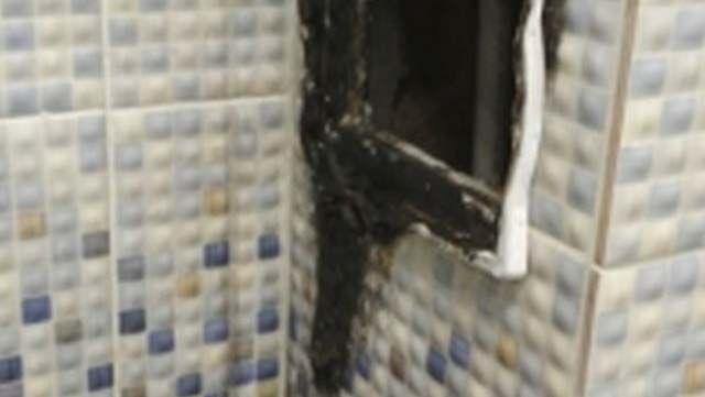 Пожар в школе №41: горела вентиляция в туалете