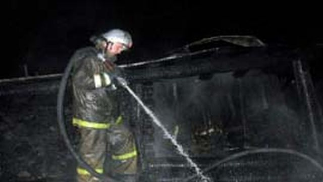 Пожар в Доме творчества композиторов потушили в светлом луче
