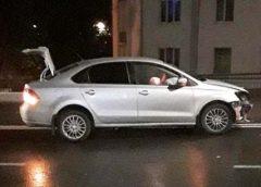 Пьяная автоледи спровоцировала аварию на проспекте Ленина