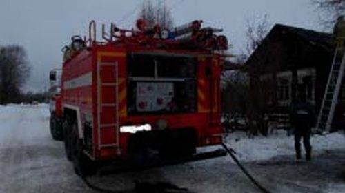 Пожар в Юже на Вокзальной утром уничтожил жилой дом