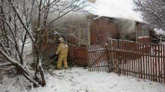 Пожар в Пучежском районе: горела пристройка к частному дому