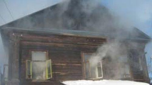 Дом и хозяйственный двор сгорели в Савино