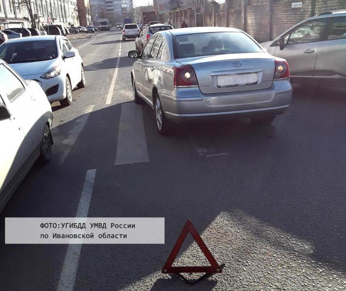 Автоледи на Рабфаковской сбила парня на переходе