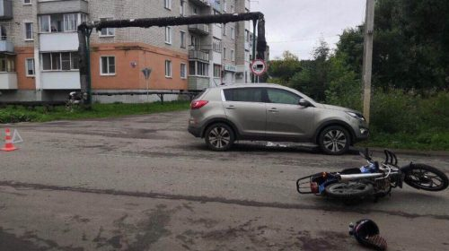 Авария в Шуйском районе: иномарка сбила подростка-мопедиста