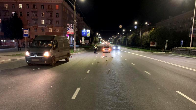 На проспекте Ленина водитель «Рено» сбил пешехода