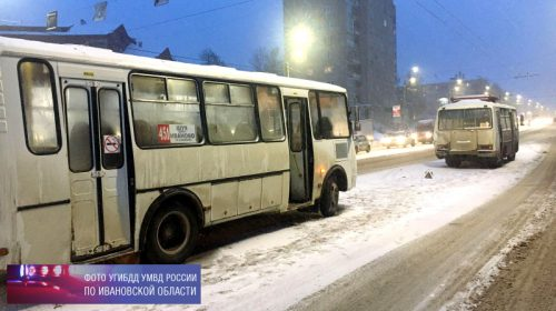 В Иванове в аварии двух автобусов пострадала 17-летняя девочка