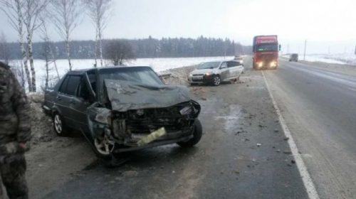 Авария на трассе Кострома-Иваново произошла из-за скользкой дороги