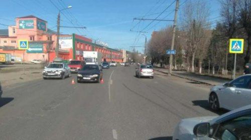 Авария на перекрестке Ленина-Батурина с маршруткой: пострадали 6 человек